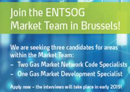 ENTSOG Calls for Candidates until 30 November 2018